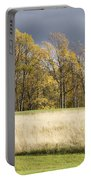 Autumn Skies Canaan Valley Of West Virginia Portable Battery Charger