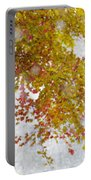 Autumn Snow Portable Battery Charger
