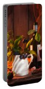 Autumn Still Life Portable Battery Charger by Amanda Elwell
