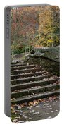 Autumn Stone Staircase Portable Battery Charger