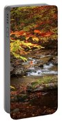 Autumn Stream Square Portable Battery Charger