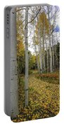 Autumn Stroll Portable Battery Charger