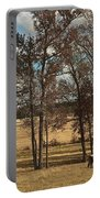 Autumn Texas Pasture Portable Battery Charger