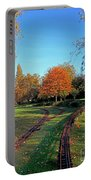 Autumn Tracks Portable Battery Charger