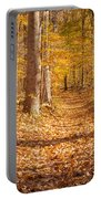 Autumn Trail Portable Battery Charger by Brian Jannsen