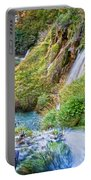 Autumn Valley Waterfalls Portable Battery Charger