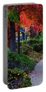 Autumn Walk In Grants Pass Portable Battery Charger