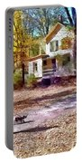 Autumn - Walking The Dog Portable Battery Charger