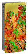 Autumn Watercolor Painting Portable Battery Charger