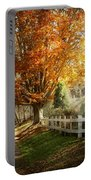 Autumn - Westfield Nj - I Love Autumn Portable Battery Charger