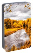 Autumn White Mountains Maine Portable Battery Charger