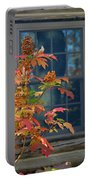 Autumn Window Portable Battery Charger