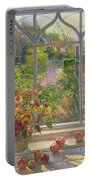 Autumn Windows Portable Battery Charger by Timothy  Easton