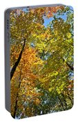 Autumn Woods Sky View Portable Battery Charger