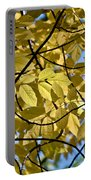 Autumn Yellow Portable Battery Charger