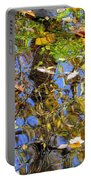 Autumnal Abstracious Portable Battery Charger