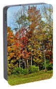 Autumnal Foliage Portable Battery Charger