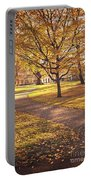 Autumnal Park Portable Battery Charger