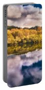 Autumnal Reflections Portable Battery Charger