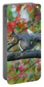 Autumnal Squirrel Portable Battery Charger