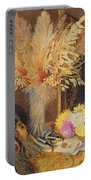 Autumnal Still Life Portable Battery Charger