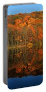 Autumns Colorful Reflection Portable Battery Charger