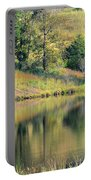 Autumn's Golden Peace Portable Battery Charger