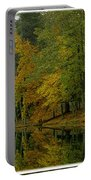 Autumns Reflection Portable Battery Charger