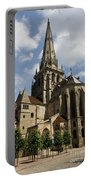 Autun Cathedral View Burgundy Portable Battery Charger