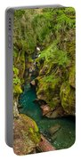 Avalanche Gorge In September Portable Battery Charger