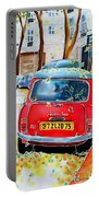Avenue Junot In Autumn Portable Battery Charger
