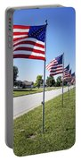 Avenue Of The Flags Portable Battery Charger