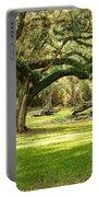 Avery Island Oaks Portable Battery Charger by Scott Pellegrin