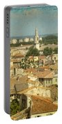 Avignon From Les Roches Portable Battery Charger