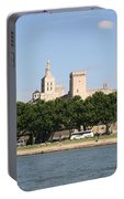 Avigon View From River Rhone Portable Battery Charger