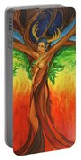 Awakening The Chakra Tree Portable Battery Charger