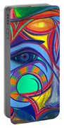 Awakening To Thy True Self Portable Battery Charger by Daina White