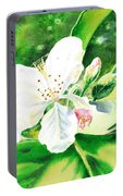Awesome Apple Blossoms Portable Battery Charger