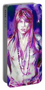 Axl Rose Portrait.3 Portable Battery Charger