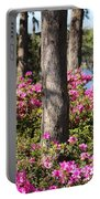 Azalea At The Lake Portable Battery Charger