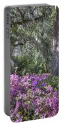 Azalea In Bloom Portable Battery Charger