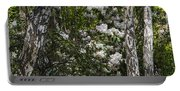 Azaleas In The Trees Portable Battery Charger
