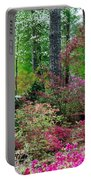 Azaleas Red Maple And Magnolia Trees Portable Battery Charger