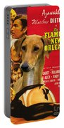 Azawakh Art - The Flame Of New Orleans Movie Poster Portable Battery Charger