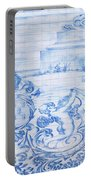 Azulejos Traditional Tiles In Porto Portugal Portable Battery Charger