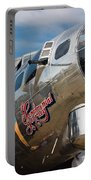 B-17 Flying Fortress Portable Battery Charger by Adam Romanowicz