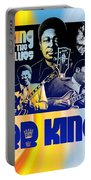 B. B. King Poster Art Portable Battery Charger