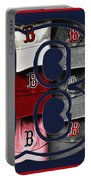 B For Bosox - Boston Red Sox Portable Battery Charger by Joann Vitali