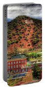 B Hill Over Historic Bisbee Portable Battery Charger