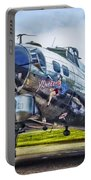 B17 Bomber Yankee Lady Portable Battery Charger